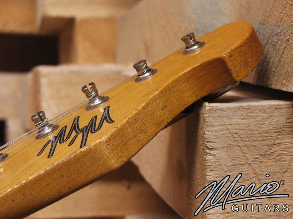 Mario Martin Mario Guitars T style Aging relic wear