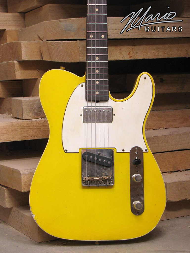 Mario Martin Mario Guitars T style Graffiti Yellow 1.