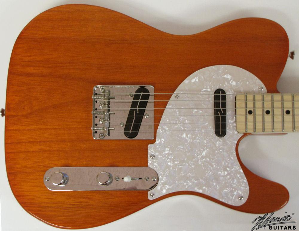 Mario Martin Mario Guitars Tennessee Orange Paulownia T 2