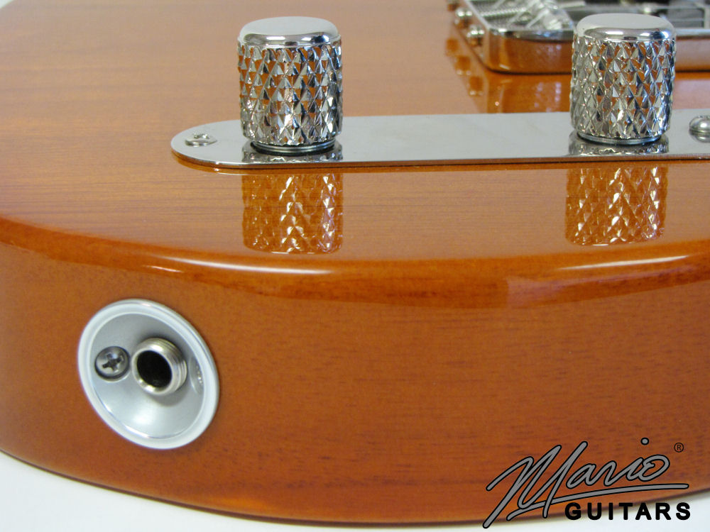 Mario Martin Mario Guitars Tennessee Orange Paulownia T 3
