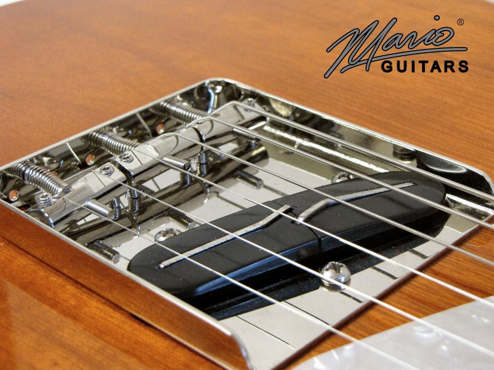 Mario Martin Mario Guitars Tennessee Orange Paulownia T 4