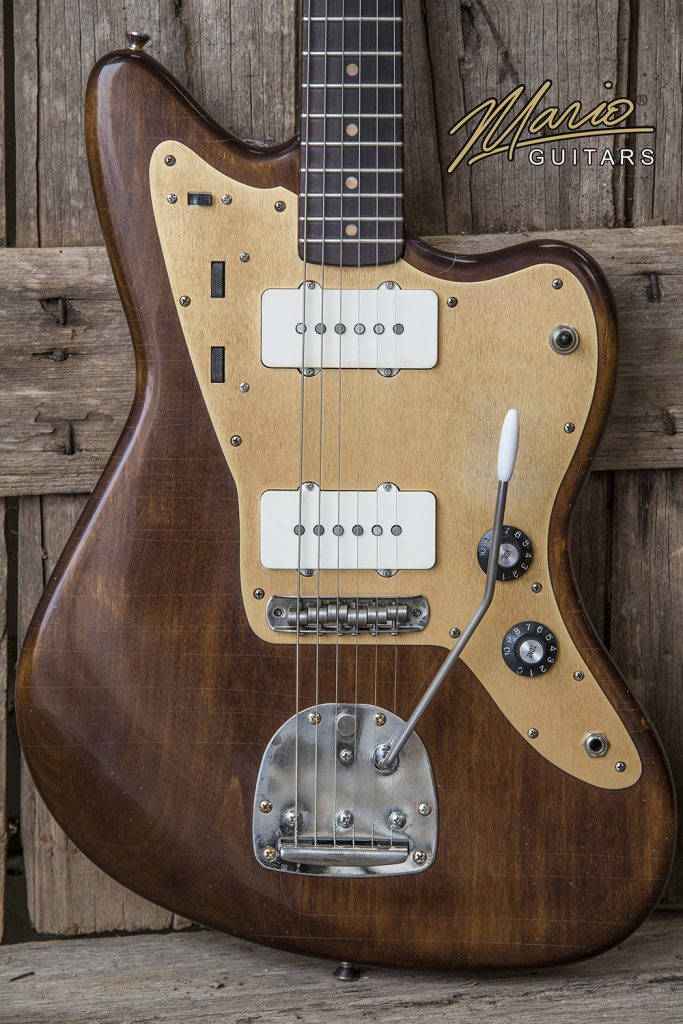 Mario Martin Mario Guitars Walnut Jazz Roasted Maple Neck 3.