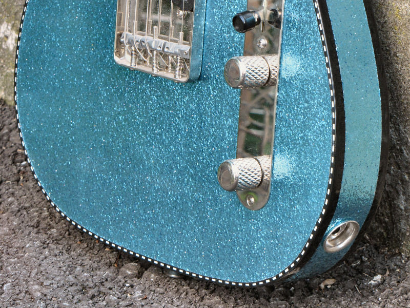 Mario Martin Sky Blue Flake T Style 6.-L