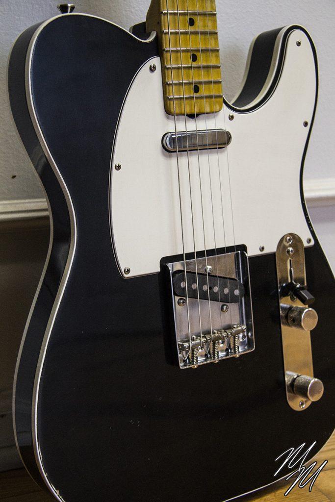 MarioMartin Guitar Black T double bound for Atlanta Discount (6)
