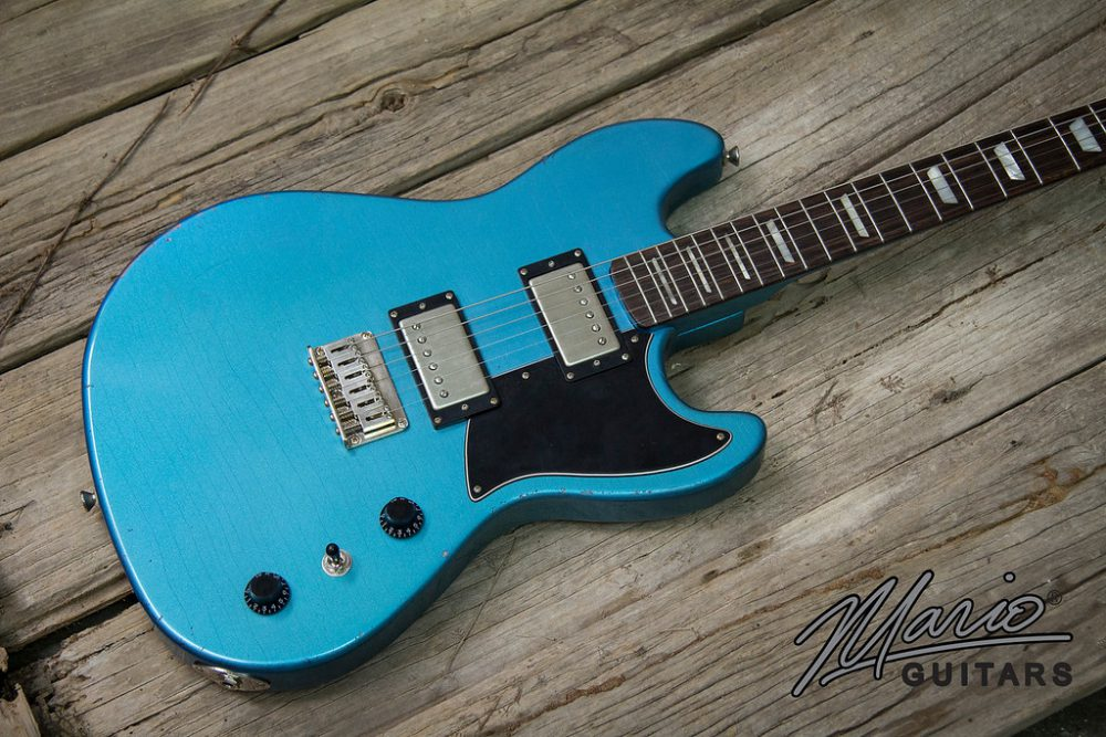 pellham blue serpentine 2018 mario guitars. Black Bedroom Furniture Sets. Home Design Ideas